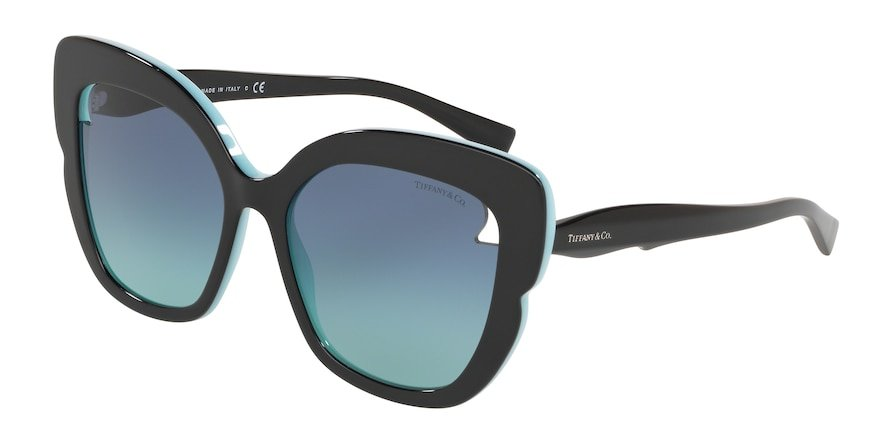 Tiffany TF4161 Black/Blue Lentes Azure Gradient Blue