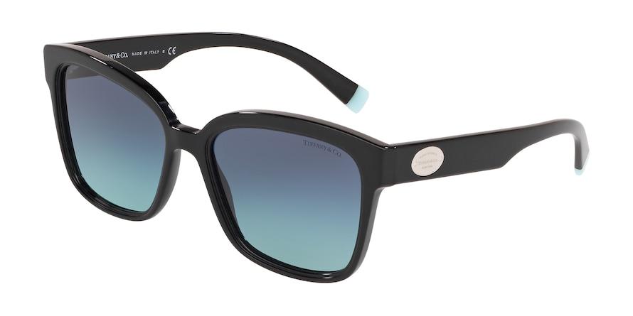 Tiffany TF4162 Black Lentes Azure Gradient Blue