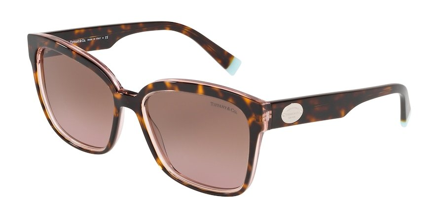 Tiffany TF4162 Havana/Transparent Pink Lentes Violet Gradient Brown