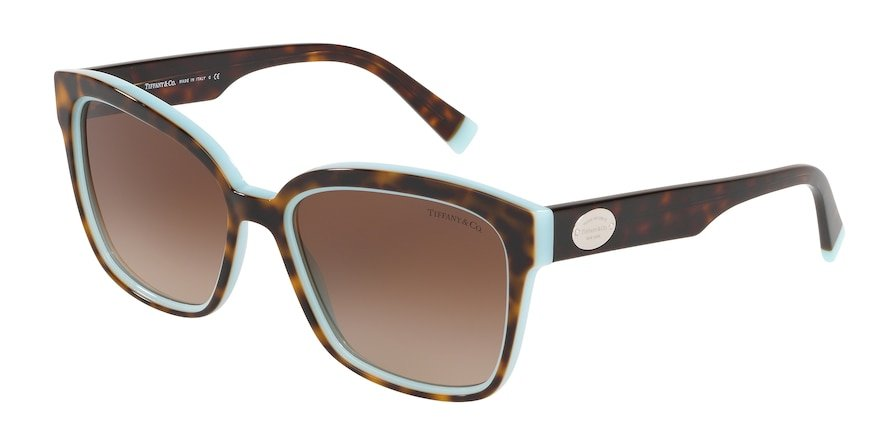 Tiffany TF4162 Havana/Blue Lentes Brown Gradient
