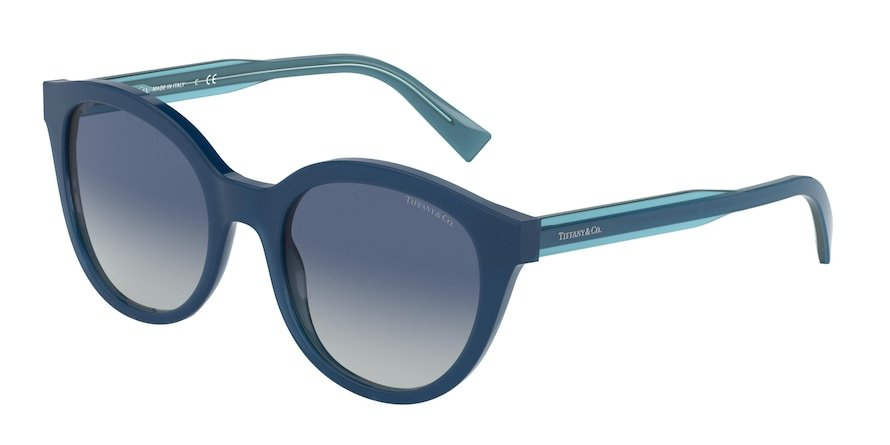 Tiffany TF4164 Opal Blue Lentes Light Grey Gradient Blue