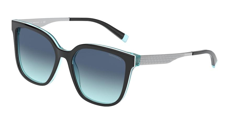 Tiffany TF4165 Black/White/Blue Lentes Azure Gradient Blue