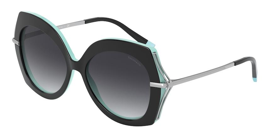 Tiffany TF4169 Black/Blue Lentes Grey Gradient
