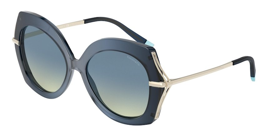 Tiffany TF4169 Opal Blue Lentes Yellow Gradient Blue