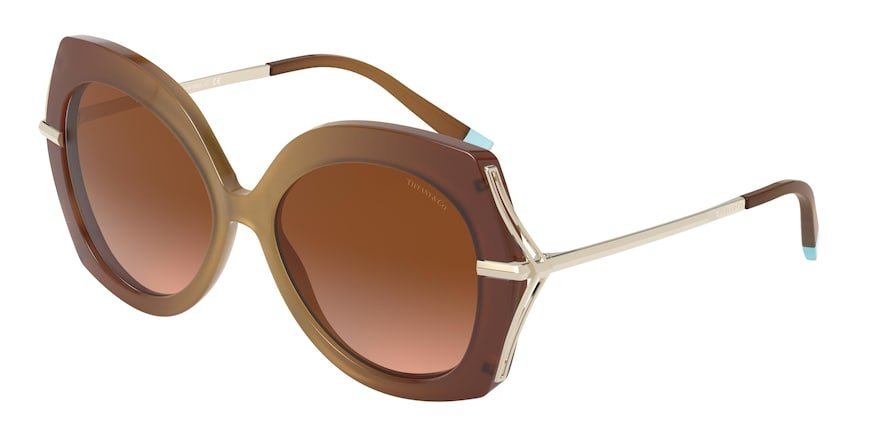Tiffany TF4169 Camel Lentes Brown Gradient