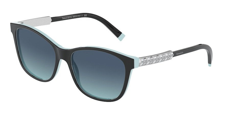 Tiffany TF4174B Black/Blue Tiffany Lentes Azure Gradient Blue