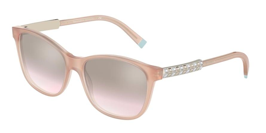 Tiffany TF4174B Opal Nude Lentes Light Brown Mirror Silver Grad