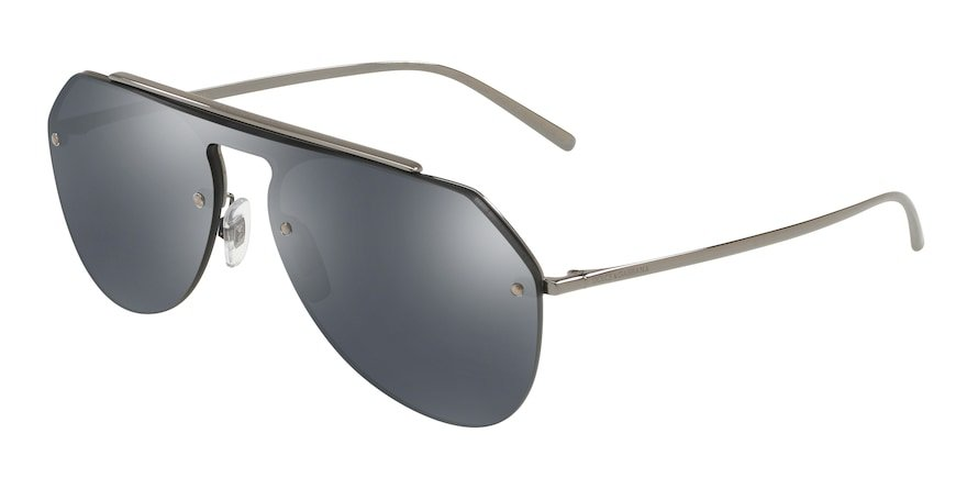 Dolce & Gabbana DG2213 Gunmetal Lentes Grey Mirror Black