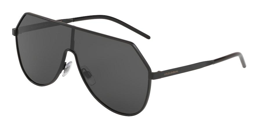 Dolce & Gabbana DG2221 Matte Black Lentes Grey