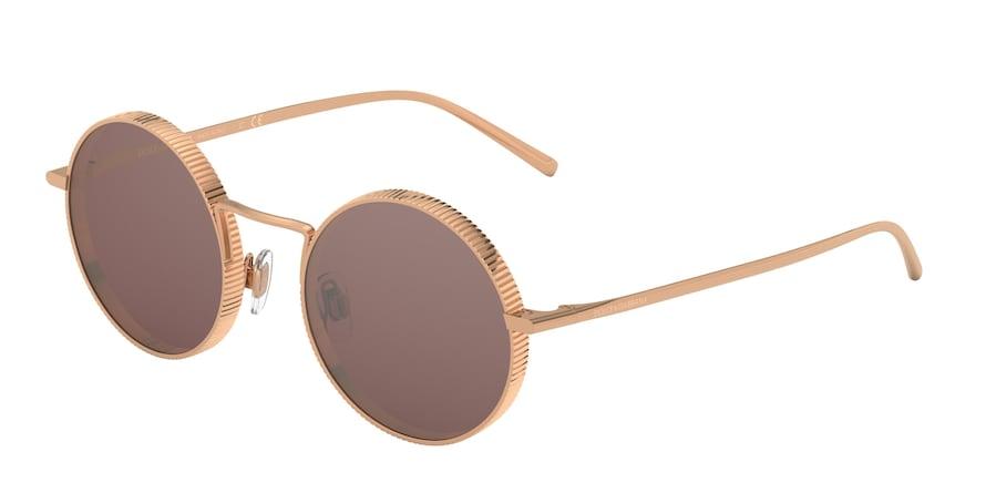 Dolce & Gabbana DG2246 Pink Gold Lentes Brown Mirr Silver Int Violet