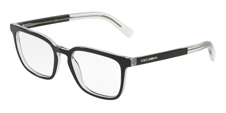 Dolce & Gabbana DG3307 Top Black On Crystal