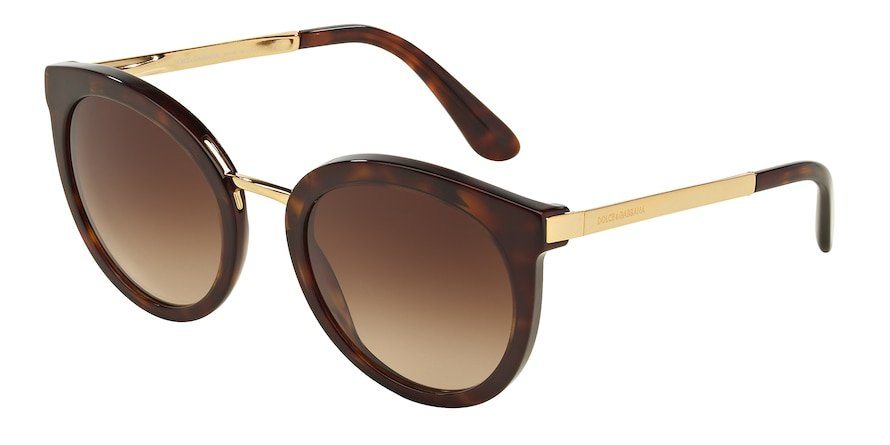 Dolce & Gabbana DG4268 Havana Lentes Brown Gradient