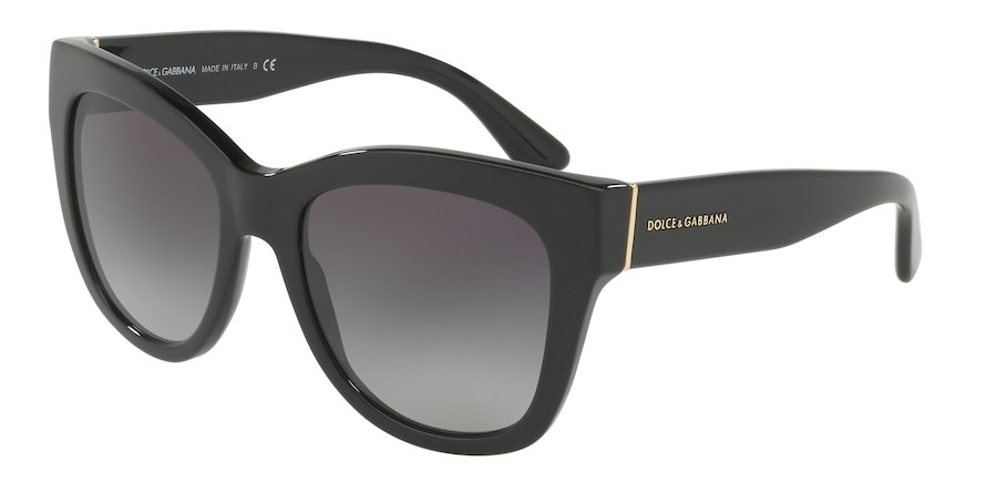 Dolce & Gabbana DG4270 Black Lentes Grey Gradient