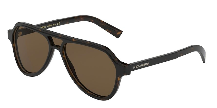 Dolce & Gabbana DG4355 Havana Lentes Brown