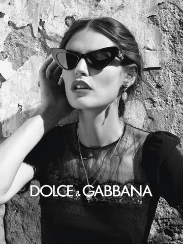 Dolce & Gabbana DG4368 Black Lentes Grey Gradient
