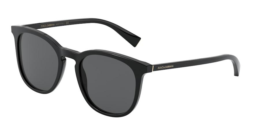 Dolce & Gabbana DG4372 Black Lentes Grey