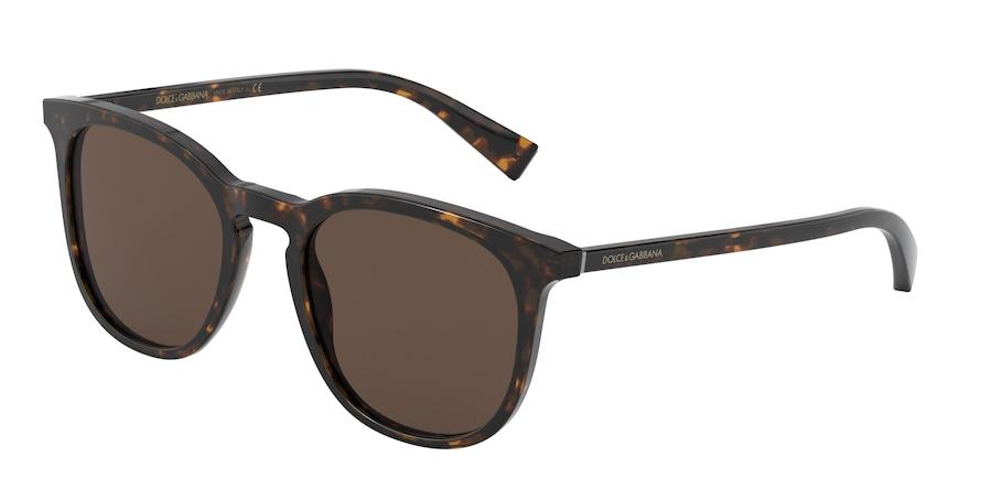 Dolce & Gabbana DG4372 Havana Lentes Brown