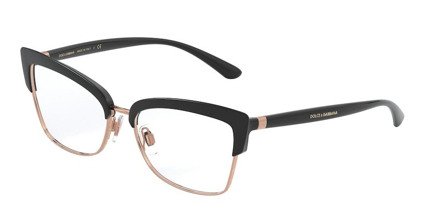 Dolce & Gabbana DG5045 Black/Pink Gold