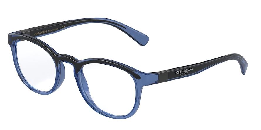 Dolce & Gabbana DG5049 Transparent Blue/Black