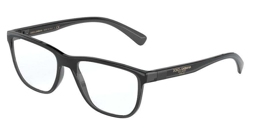 Dolce & Gabbana DG5053 Transparent Grey/Black