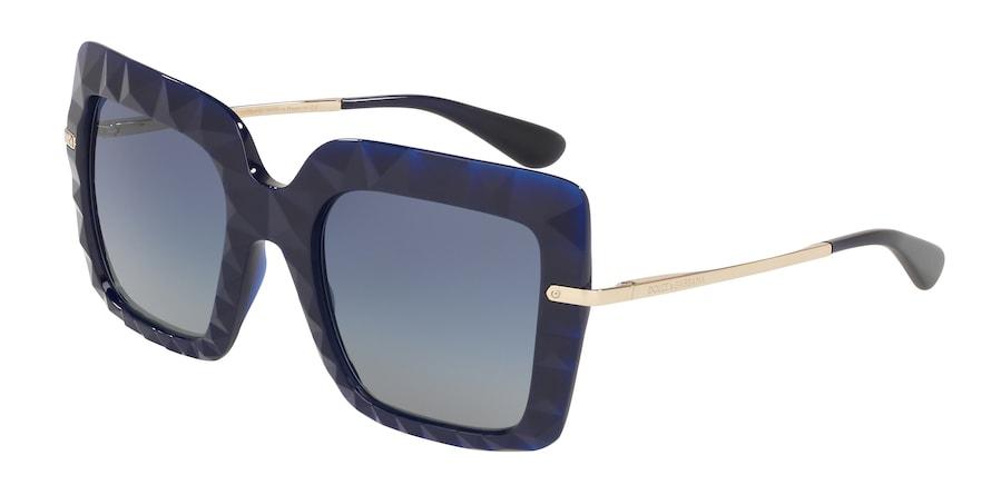Dolce & Gabbana DG6111 Opal Blue Lentes Light Grey Gardient Dark Blue