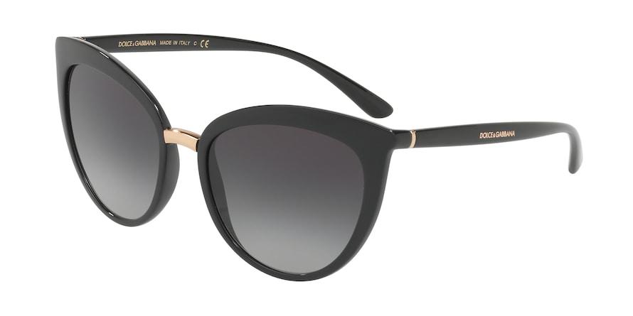 Dolce & Gabbana DG6113 Black Lentes Grey Gradient