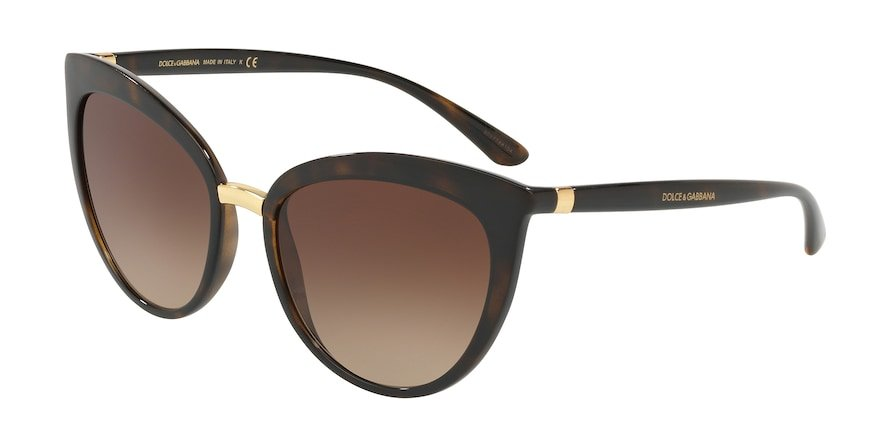 Dolce & Gabbana DG6113 Havana Lentes Brown Gradient
