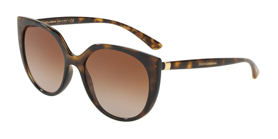 Dolce & Gabbana DG6119 Havana Lentes Brown Gradient
