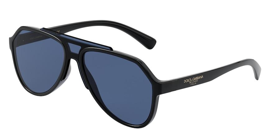 Dolce & Gabbana DG6128 Black Lentes Blue