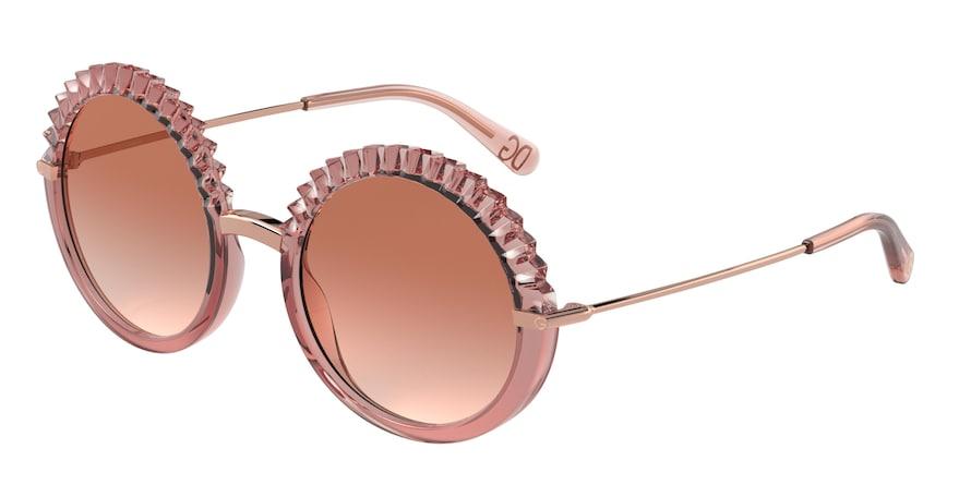 Dolce & Gabbana DG6130 Transparent Pink Lentes Pink Gradient