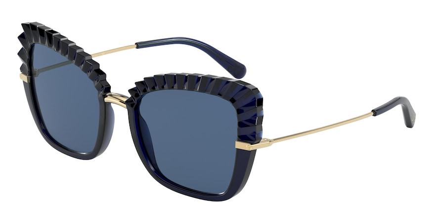 Dolce & Gabbana DG6131 Blu Opalino Lentes Dark Blue