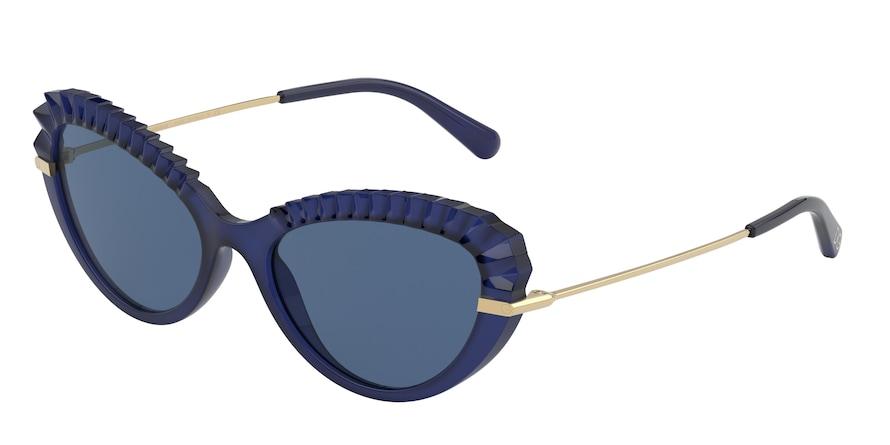 Dolce & Gabbana DG6133 Opal Blue Lentes Dark Blue