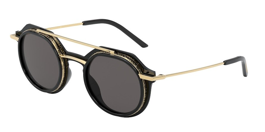Dolce & Gabbana DG6136 Black Lentes Grey