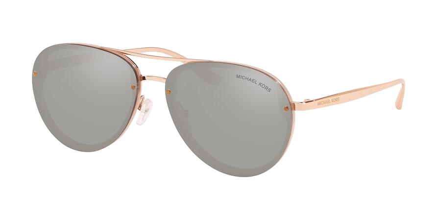 Michael Kors MK2101 ABILENE Milky Pink Lentes Silver Mirror