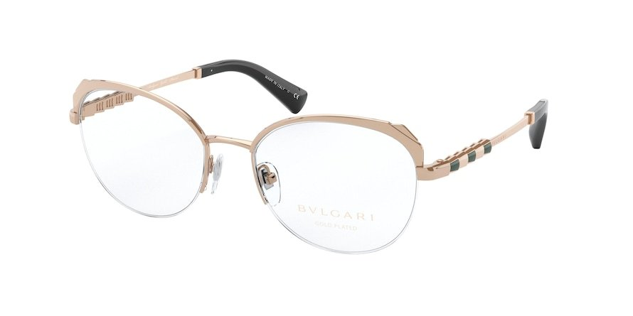 Bvlgari BV2221KB Pink Gold Plated