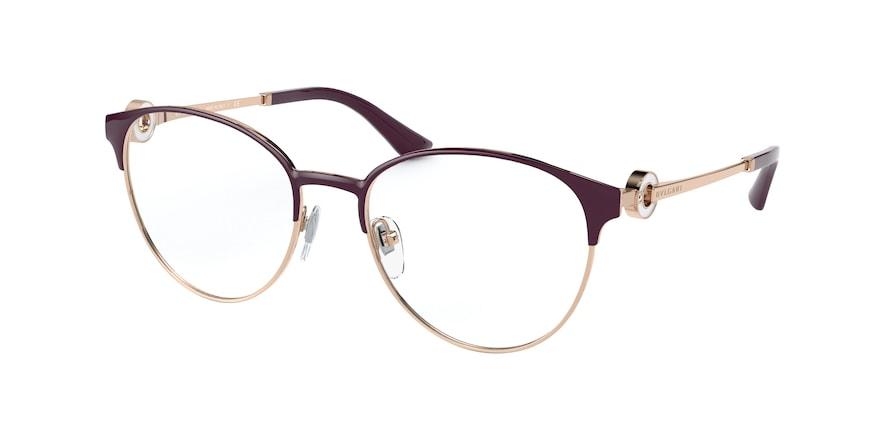 Bvlgari BV2223B Pink Gold/Violet