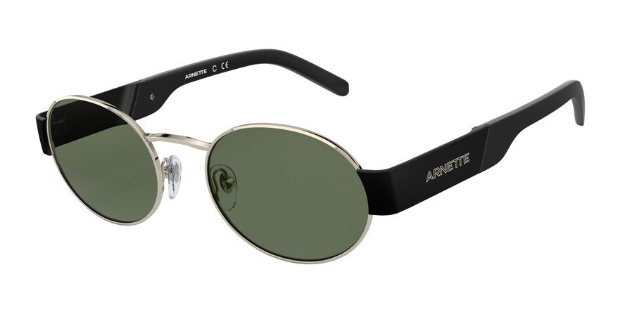 Arnette LARS AN3081 Brushed Pale Gold Lens Green