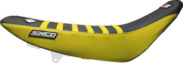 Capa de Banco 5SP - Amarela e Preta