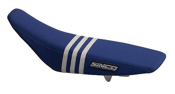 Capa de Banco 5TS - Azul e Branco