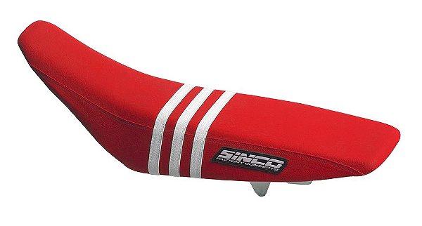 Capa de Banco 5TS - Vermelho e Branco