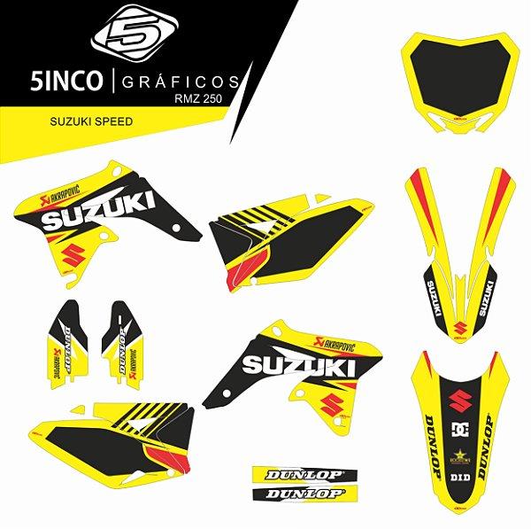 Kit adesivo 3M Suzuki Speed 2018 - RMZ 250