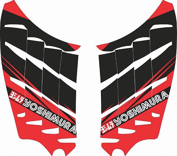 Adesivo de Radiador Para CRF 250 F Nacional - Biker - Yoshimura