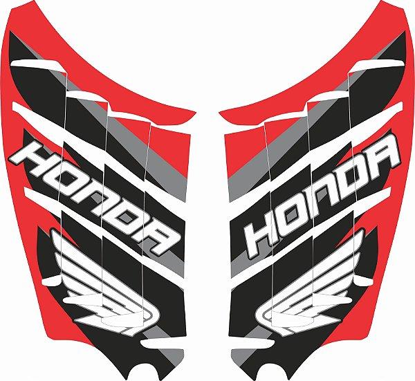 Adesivo de Radiador Para CRF 250 F Nacional - Biker - Honda