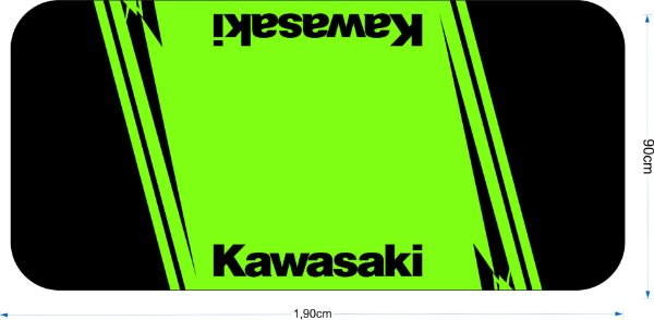 Tapete para motos Kawasaki