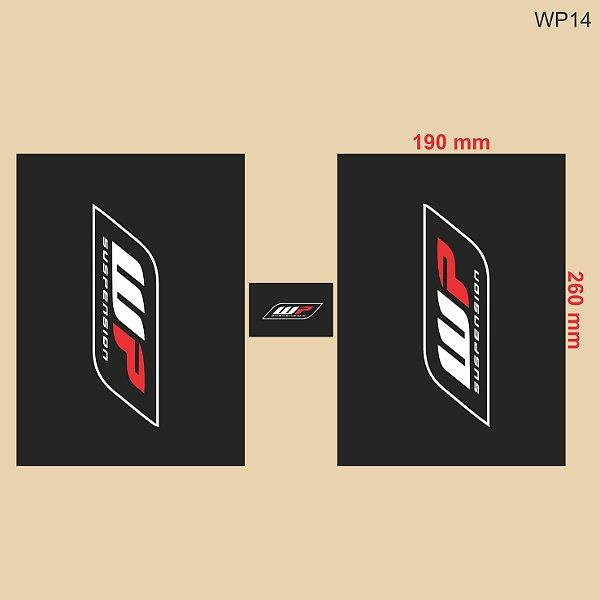 Adesivo de Suspensão White Power WP - WP14