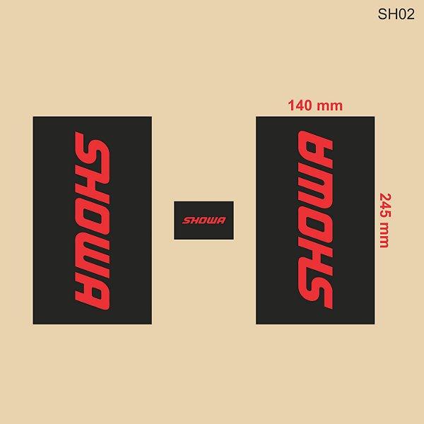 Adesivo de Suspensão Showa - SH02
