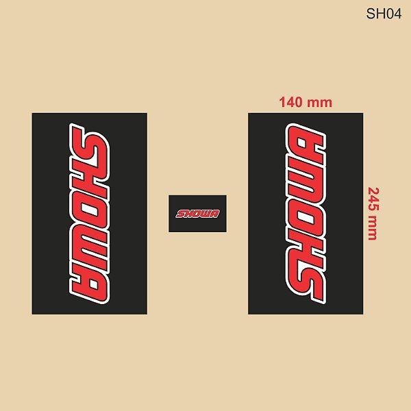 Adesivo de Suspensão Showa - SH04