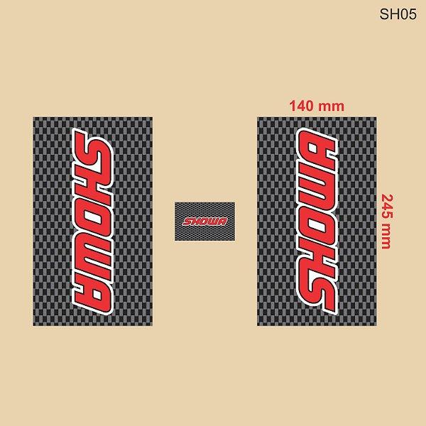 Adesivo de Suspensão Showa - SH05