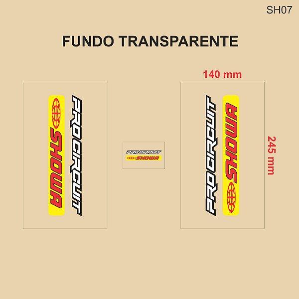 Adesivo de Suspensão Showa - SH07