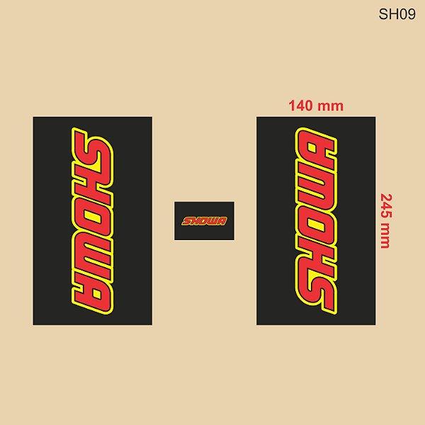 Adesivo de Suspensão Showa - SH09